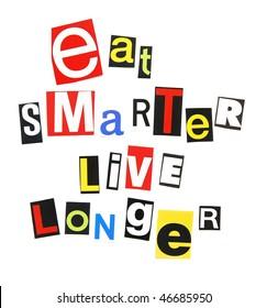 eat smarter, live longer