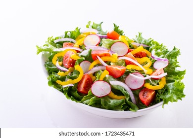 Eat vegetable salad for a healthy life