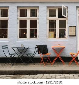 Eatery in Copenhagen. Denmark