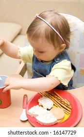eating baby girl # 11