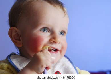 An eating child
