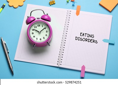 Eating Disorders, Health Concept