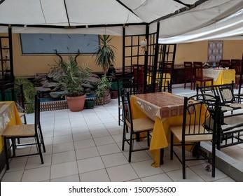 Eating at a restaurant in Somaliland