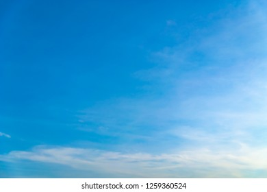 eautiful blue sky and white clouds like painters paintings.