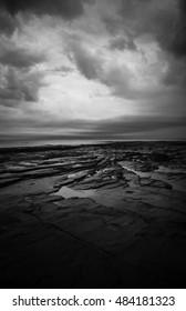 Ebb Tide On The Shoreline At Point Prim Prince Edward Island