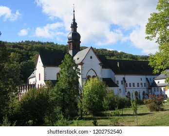 Eberbach Monastery, Romanesque Monastery Church, Kloster Eberbach in Germany