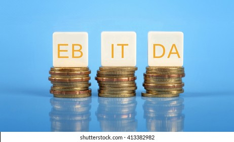 EBITDA  (Earnings before Interest, Taxes, Depreciation, and Amortization), business/finance conceptual.