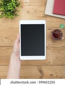 e-book or e-reader mockup