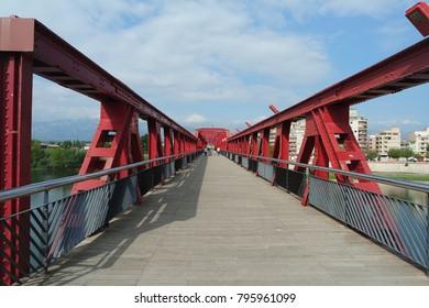Ebro bridge in Tortosa, Catalonia, Spain