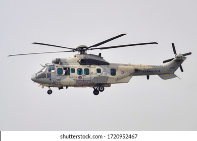 EC-725 Royal Thai Air Force, Tail number NO.20306 after Military Search and Rescue Demonstration at Don Mueang International Airport military side 1/11/2020, 1.06 PM.
