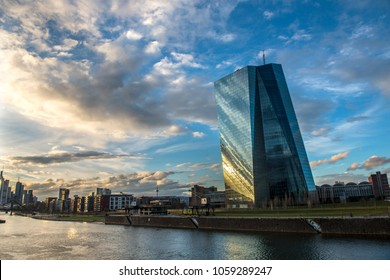 ECB, European Central Bank, Frankfurt, Germany,March 2018