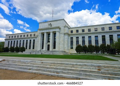 Eccles Building is located in Washington D.C., United States of America. The Board of Governors of the Federal Reserve System take seats there. It was built in 1937 and designed by Paul Philippe Cret.