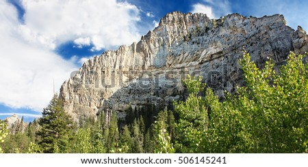 Echo Cliff is located in Spring Mountains National Recreation Area of Nevada