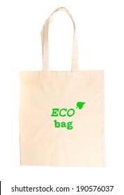 Eco bag, isolated on white