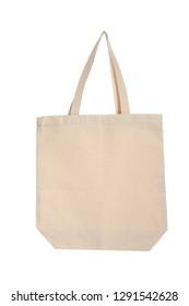 Eco bag on white background. Mock up for design