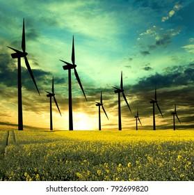 Eco Energy-conceptual image