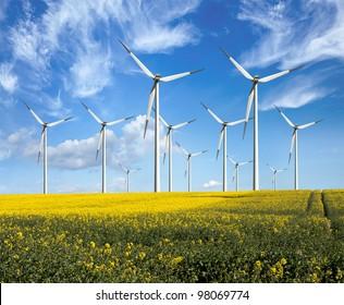 Öko-Energie, Windturbinen