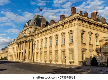 The Ecole Militaire (Military School) in Paris - France