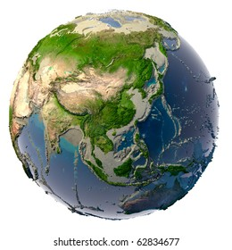 Ecological catastrophe of the Earth - shallowing of the oceans and seas