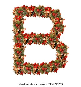 ecological figure, letter B