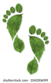 Ecological Footprint sustainability concept