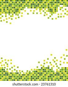 Ecological mosaic background