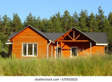 Ecological Small wooden house. Wooden house with meadow in front of it. Beautiful modern & Wooden House Images Stock Photos \u0026 Vectors | Shutterstock