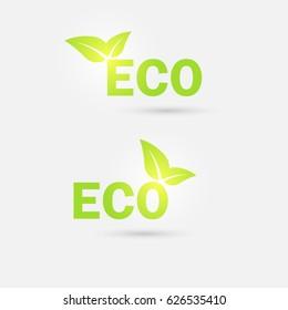 Ecology icon. Green technologies