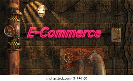 E-Commerce in Neon