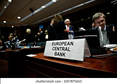 Economic and Financial (ECOFIN) Affairs Council meeting in Brussels, Belgium on Nov. 8, 2016