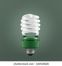 Economic light bulb, environmentally friendly