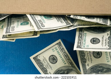 Economic worries & where to stash your cash. Savings in a shoebox rather than a secure banking system.