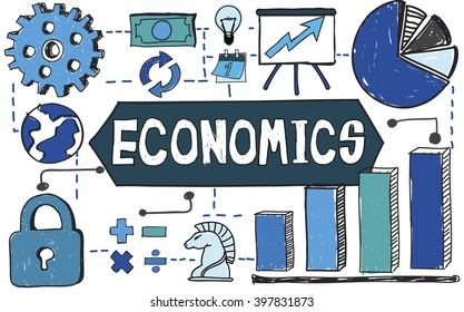 Economics Economy Finance Income Investment Concept