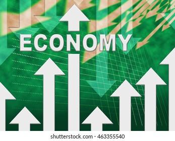 Economy Graph Meaning Macro Economics And Economical