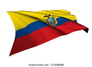 Ecuador flag - collection no_5