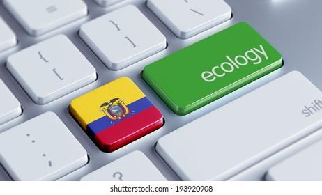 Ecuador High Resolution Keyboard Concept