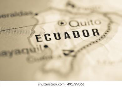 Ecuador. South America.