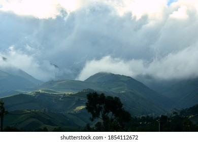 Ecuadorean Landscape composed by the andes mountainrange.