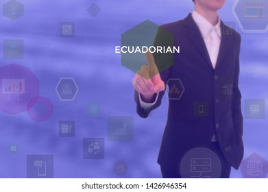 ECUADORIAN - technology and business concept