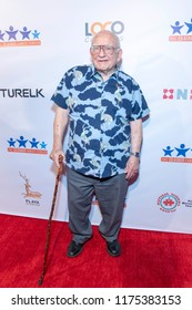 Ed Asner attends 6th Annual Ed Asner & Friends Poker Tournament Celebrity Night at PLAYA STUDIOS, Culver City, California on September 8th, 2018