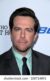 "Ed Helms at the ""Jeff Who Lives at Home"" Film Premiere, Directors Guild of America, Los Angeles, CA 03-07-12"