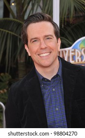 "Ed Helms at the world premiere of ""Dr. Suess' The Lorax"" at Universal Studios, Hollywood. February 19, 2012  Los Angeles, CA Picture: Paul Smith / Featureflash"