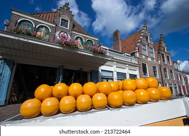 edam country famous for its cheese market amsterdam holland