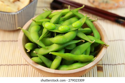 Edamame /green soybeans/Japanese food