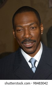 EDDIE MURPHY at the world premiere of his new movie The Haunted Mansion. November 23, 2003  Paul Smith / Featureflash