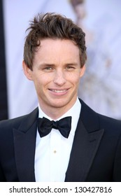 Eddie Redmayne at the 85th Annual Academy Awards Arrivals, Dolby Theater, Hollywood, CA 02-24-13