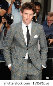 Eddie Redmayne arriving for the 2013 GQ Men Of The Year Awards, at the Royal Opera House, London. 03/09/2013