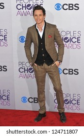 Eddie Redmayne at the People's Choice Awards 2013 at the Nokia Theatre L.A. Live. January 9, 2013  Los Angeles, CA Picture: Paul Smith