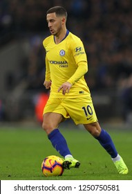 Eden Hazard of Chelsea - Tottenham Hotspur v Chelsea, Premier League, Wembley Stadium, London (Wembley) - 24th November 2018