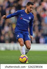 Eden Hazard of Chelsea - Chelsea v Fulham, Premier League, Stamford Bridge, London - 2nd December 2018